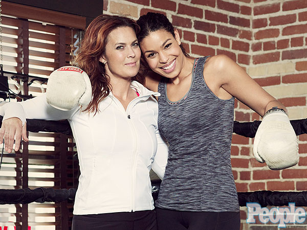 Jordin Sparks Gets Strength – and Fitness Inspiration – from Her Mom