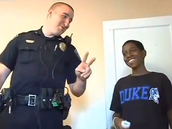South Carolina Police Officer Buys Bed, Wii, TV and Furniture for Teen