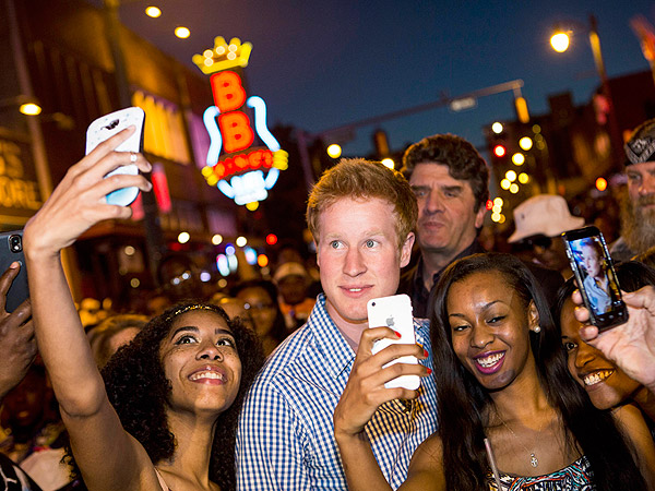 Fake Prince Harry Mobbed by Crowds in Memphis