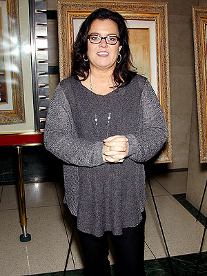 Rosie O'Donnell: Eating Healthy Is a Daily Struggle