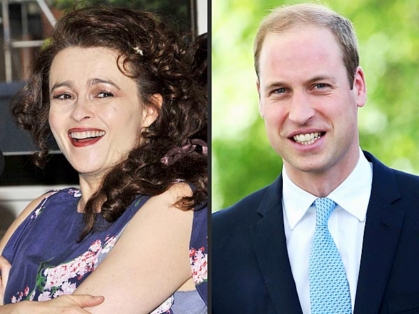 Helena Bonham Carter Once Drunkenly Asked Prince William to 'Be a Godparent'