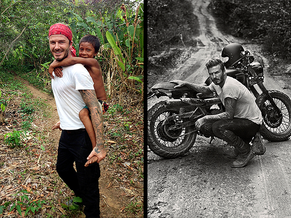David Beckham in the Unknown to Air in U.K. in June