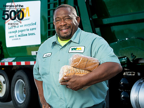 Maryland Truck Driver and Wife Help Thousands of Hungry Families