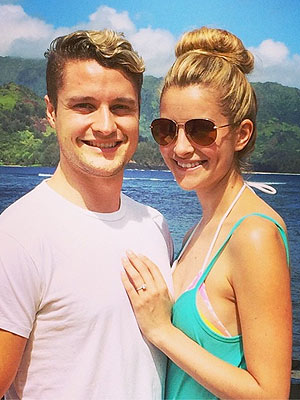 Charlie White Engaged to Tanith Belbin