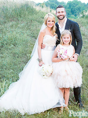 Emily Maynard Official Wedding Photo