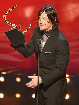 Norman Reedus Says He's 'Not Very Ass Kicker-ish'