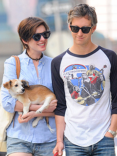 Anne Hathaway's New Puppy Is a 'Little Gentleman,' Says Rescue