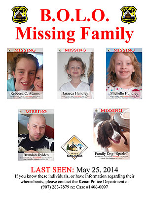 Alaska Police Stumped Over Missing Family