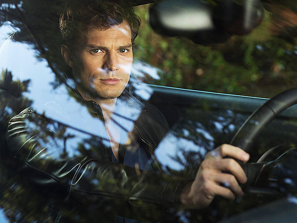 Fifty Shades of Grey Releases First Movie Still: See Jamie Dornan Rev Up as Christian Grey