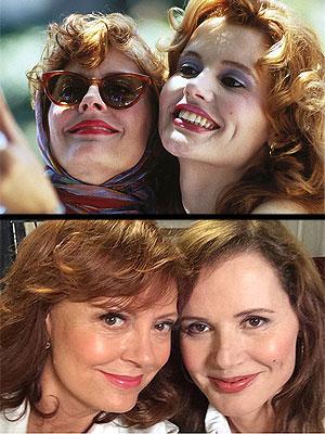 Susan Sarandon and Geena Davis Reunite for a Selfie