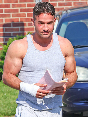Mike 'The Situation' Sorrentino Leaves Jail After Tanning Salon Brawl