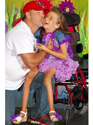 Dad Dances with Daughter in Wheelchair at Pageant: Meet Mike & McKenzie Carey