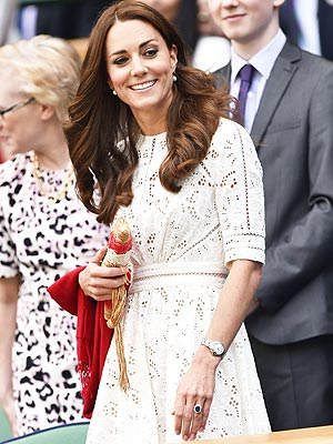 Wimbledon: Kate Middleton and Prince William Attend Grand Slam Event