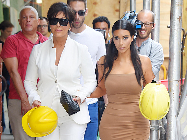 Kim Kardashian, Kanye West Shopping for a Bigger Apartment in NYC