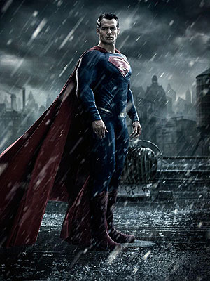 Batman v Superman: Henry Cavill as Superman Pic Released