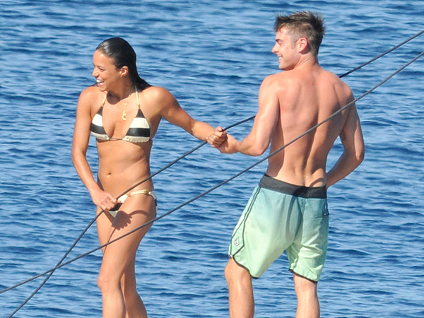 Inside Zac Efron and Michelle Rodriguez's PDA-Filled Italian Vacation