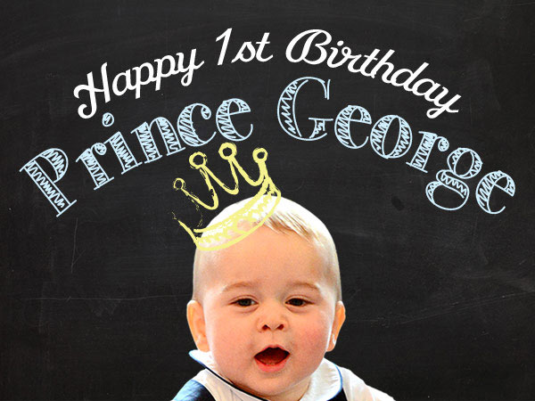 Prince George Birthday: Infographic