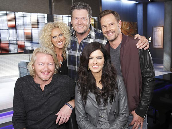 Little Big Town Joins The Voice as Blake Shelton's Adviser (PHOTO)