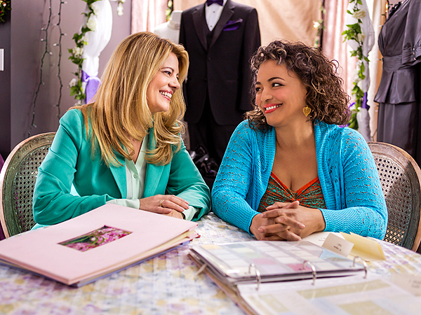 Lisa Whelchel and kim fields
