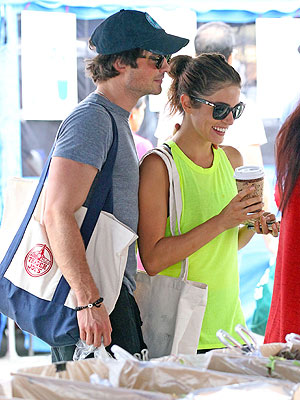 Ian Somerhalder and Nikki Reed Get Cozy