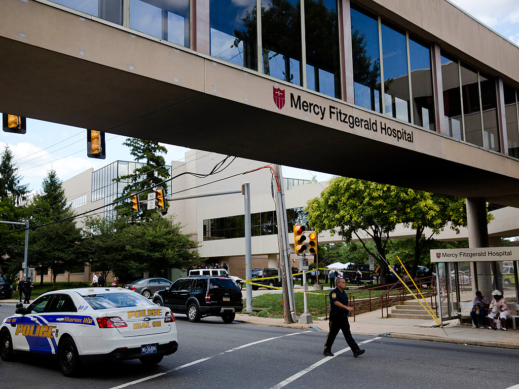 Hospital Shooting Near Philadelphia: Armed Doctor Saved Lives, Police Say