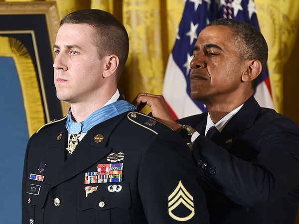Staff Sgt. Ryan M. Pitts Receives Congressional Medal of Honor