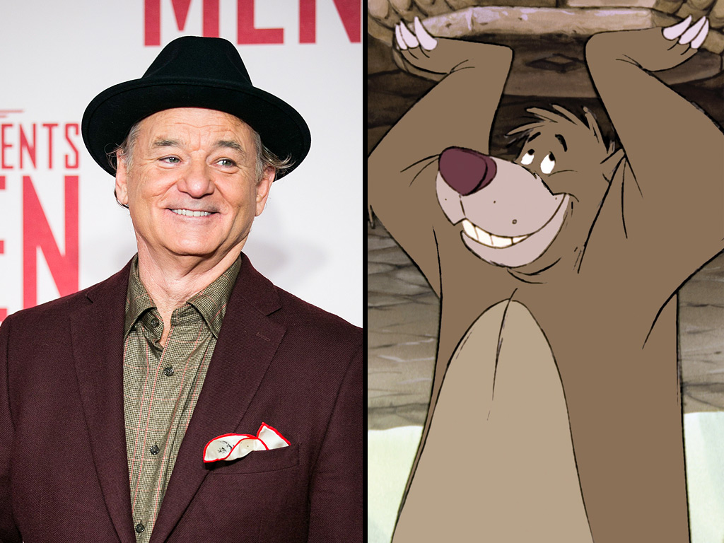 Disney Casts Bill Murray to Play Baloo in The Jungle Book