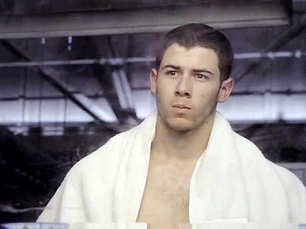 Nick Jonas Is Shirtless in New Kingdom Trailer