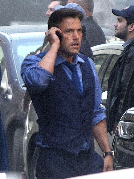 Ben Affleck Makes One Slick Bruce Wayne on Batman v Superman: Dawn of Justice Set