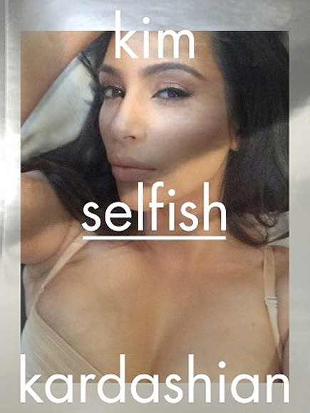 Kim Kardashian to Publish Book of Selfies, Titled Selfish