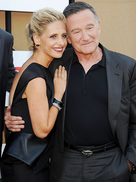 Sarah Michelle Gellar Calls Robin Williams the 'Father I Always Dreamed of Having'