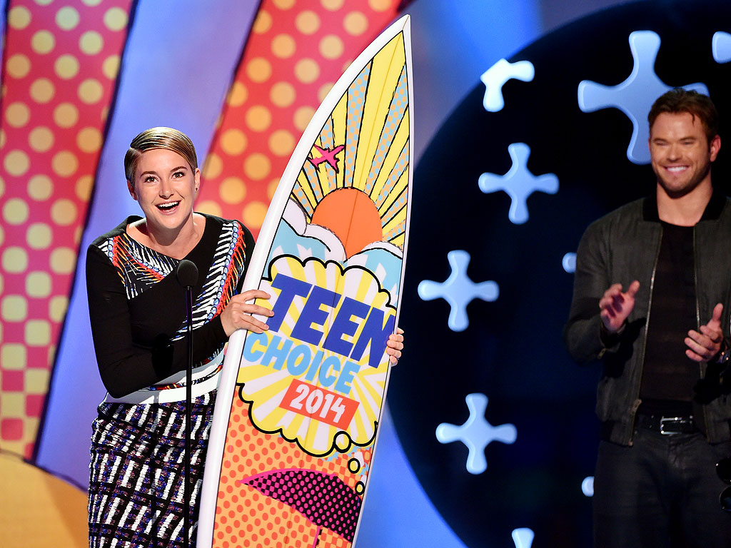 Shailene Woodley: Teen Choice Awards 2014
