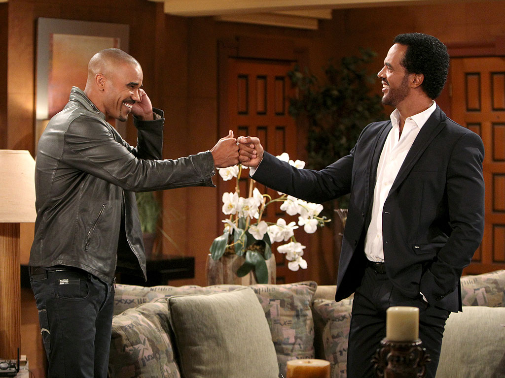 First Look: Shemar Moore Returns to The Young and the Restless (PHOTO)