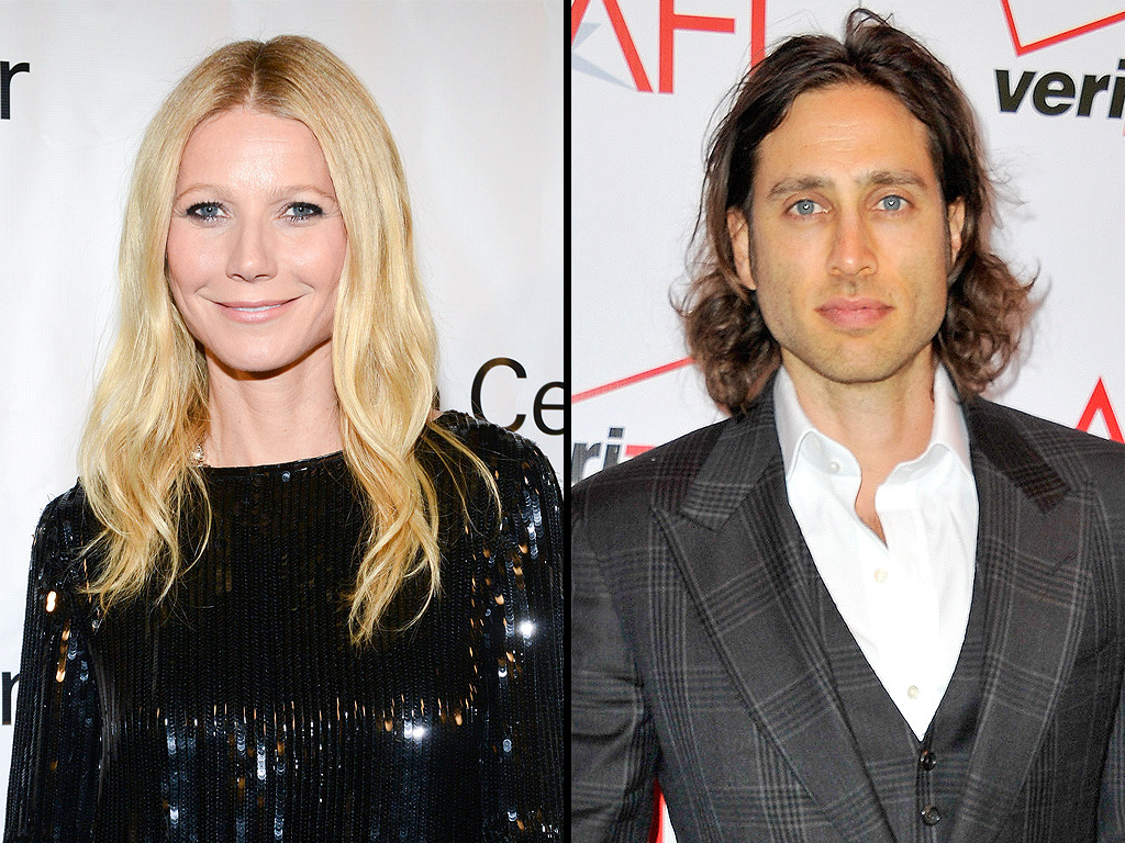Gwyneth Paltrow with Boyfriend Brad Falchuk