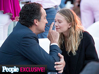 Mary-Kate Olsen and Olivier Sarkozy 'Very Playful' at Hamptons Party: Source