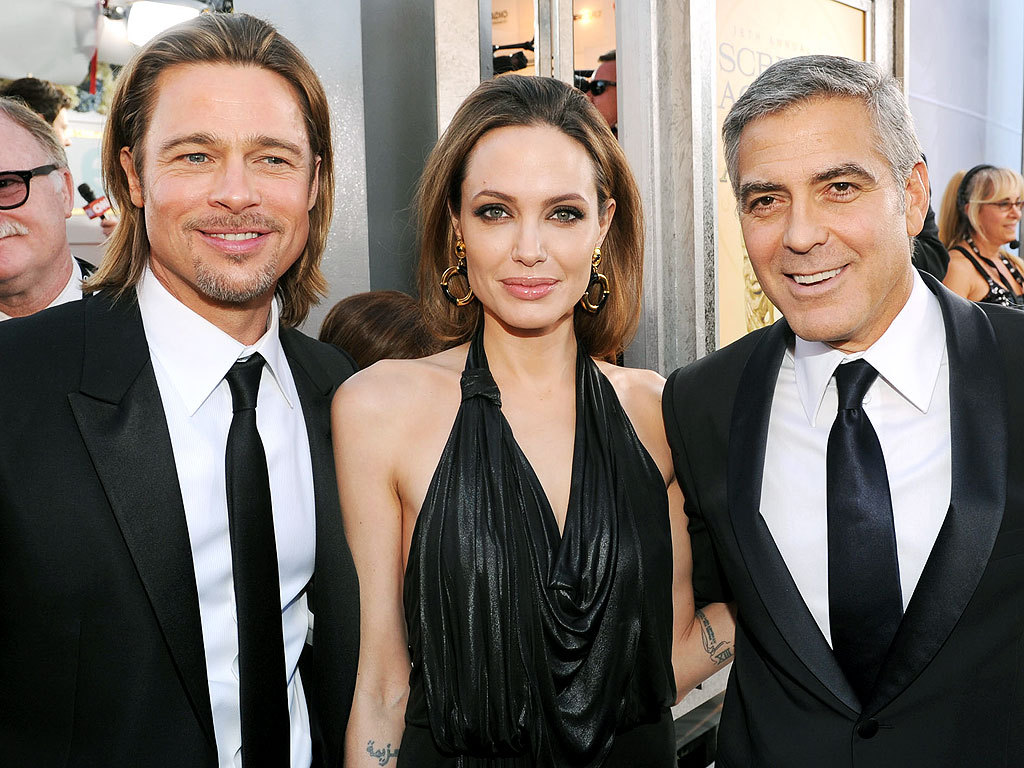 Brad Pitt Says Marriage Isn't 'Just a Title' – and Talks About His Friendship with George Clooney