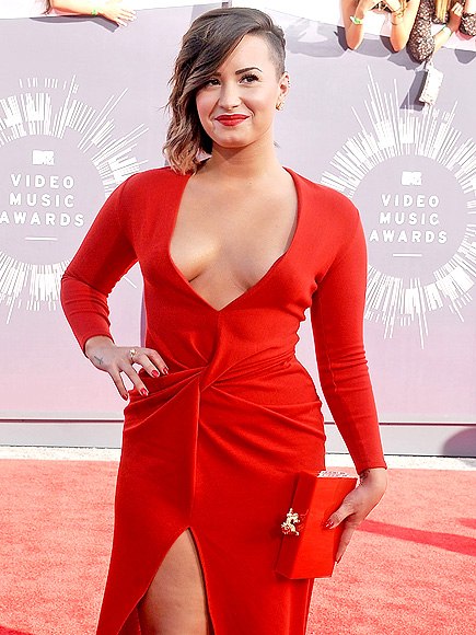 Demi Lovato Compares Her VMA Outfits: 'I Wasted So Many Years Ashamed of My Body'