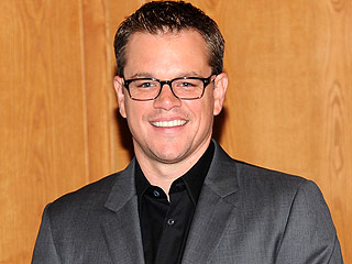 Matt Damon Turns to His Toilet for Ice-Bucket Challenge