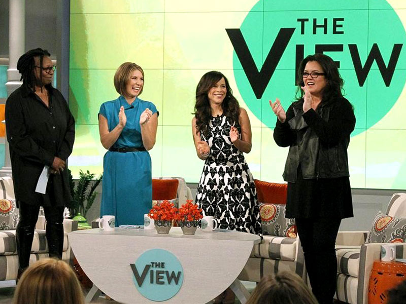 Rosie O'Donnell Debuts 53-Lb. Weight Loss on The View