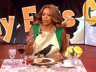 Wendy Williams Literally Eats Crow ... Seriously