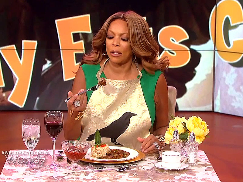 Wendy Williams Eats Actual Crow After Losing Kim and Kanye Marriage Bet (VIDEO)