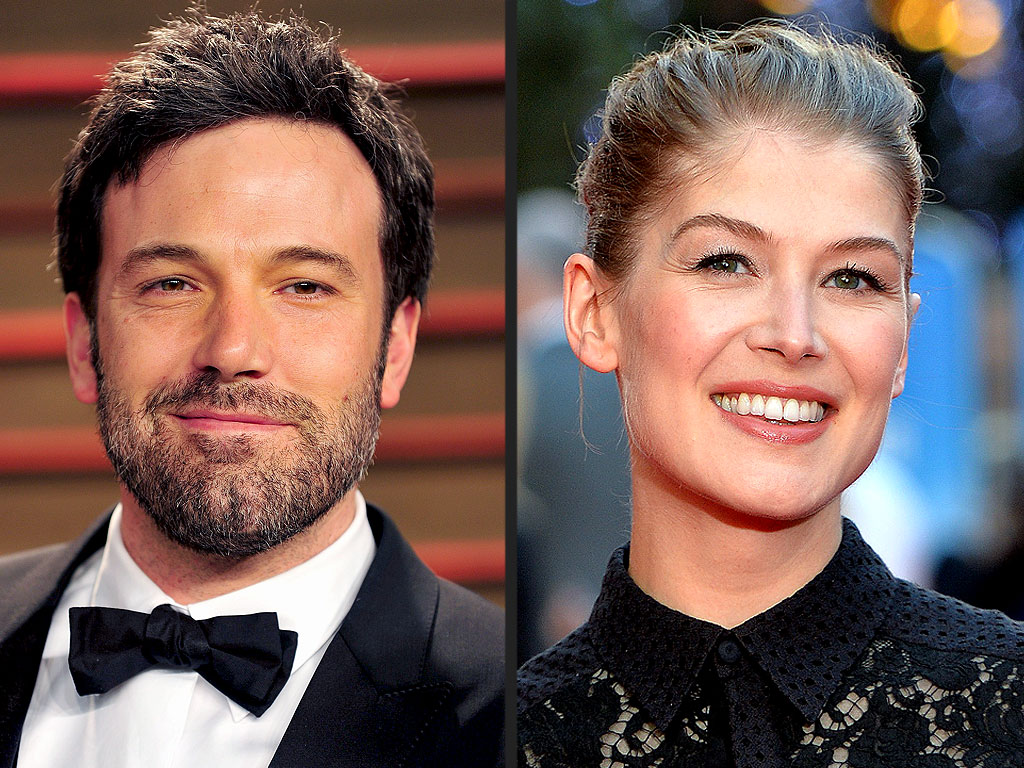 Gone Girl's Rosamund Pike Talks Ben Affleck's Comedy Chops