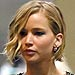 Jennifer Lawrence Joins Chris Martin Backstag