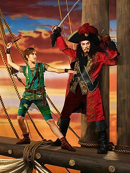 See the First Photo of Christopher Walken as Captain Hook for Peter Pan Live!