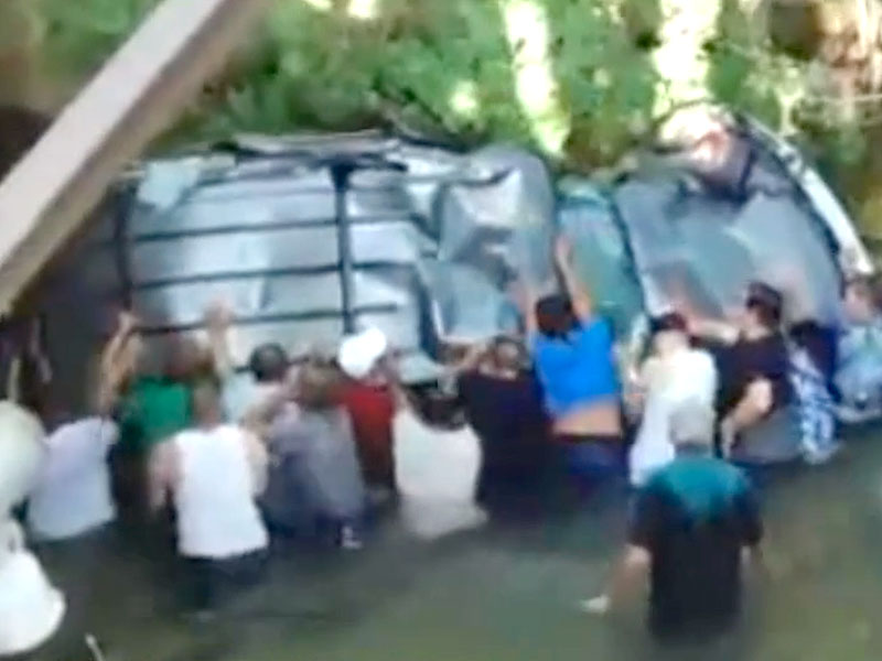 Utah Do-Gooders Save Teens Trapped Inside Submerged SUV