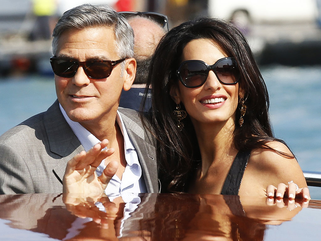 George Clooney, Amal Alamuddin Wedding Festivities Begin in Venice