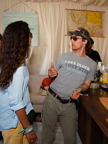 Matthew McConaughey Wears Dazed and Confused Shirt