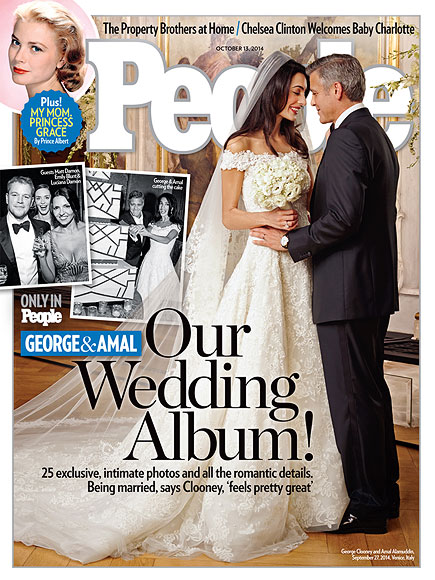 George Clooney and Amal Alamuddin Wedding Pictures: First Look
