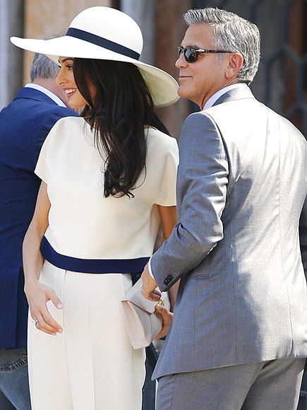George Clooney and Amal Alamuddin Close Out Wedding Weekend with Private Civil Ceremony