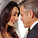 George Clooney and Amal Alamuddin'